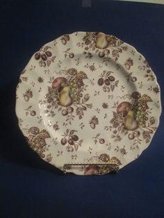 Johnson Brothers China-Made in England-Autumn Delight-14 Dinner Plates #JohnsonBros