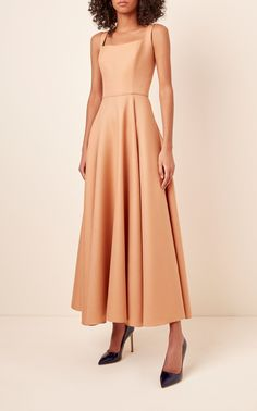 A-Line Bustier Dress by BRANDON MAXWELL for Preorder on Moda Operandi