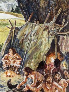 Paleolithic Campsite