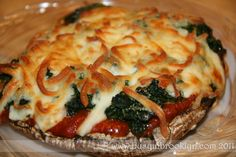Busy in Brooklyn » Blog Archive » Low Carb Portobello Pizza