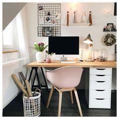 Home Office Decor Home Office Space, Home Office Design, Home Office Decor, Office Furniture, Desk Space, Office Ideas, Study Room Decor, Bedroom Decor, Small Space Design