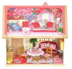 Sylvanian Families Cath Kidston Decorated Furnished Dolls House Cottage Lots | eBay