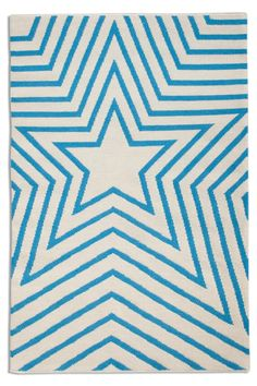 Freddie Exclusively designed for the Plantation Rug Company, this soon-to-become iconic design will cause a stir in your home. Bright, geometric lines create repeating stars that will keep your interiors shining. Material : Wool Red or Blue Funky Rugs, Get On The Floor, Star Rug, Rug Company, Geometric Lines, Rug Making, Icon Design, Old Things, Kids Rugs