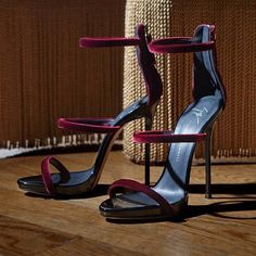 """Giuseppe Zanotti """"Harmony Velvet"""" sandals"""