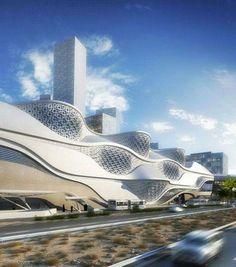 Amazing Zaha Hadid Architecture Style Inspirations_45