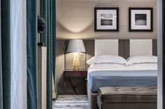 Contemporary Bedroom in FR by Achille Salvagni Atelier