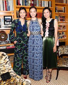 Liu Wen, Fei Fei Sun, and Wendi Murdoch