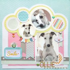 Ideas for Scrapbookers: New Pet Layout and Digital Cutting Files Downloads!