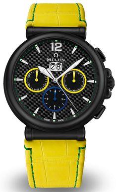 Milus Zetios Chronograph ZCRC3 Limited Edition – Часы для легендарного футболиста | LuxuriousWatches.ru