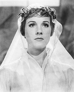 Julie Andrews as Maria in The Sound of Music. Most beautiful movie wedding ever.