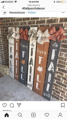 diy fall crafts to sell - Diy Fall Crafts Thanksgiving Diy, Fall Projects, Diy Projects, Crafts To Sell, Diy Crafts, Pallet Crafts, Fall Wood Crafts, Wooden Fall Decor, Pallet Art