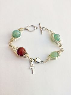 """by SHINE. """"ANKH"""" MAGIC BRACELET from Jewellery with a Touch of Magic bySHINE by DaWanda.com"""