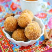 The Comfort of Cooking » Baked Apple Cider Donut Holes