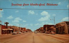 Main Street - Weatherford Oklahoma