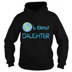 Worlds Best Daughter Baby  Toddler Shirts Short Sleeve Baby Bodysuit