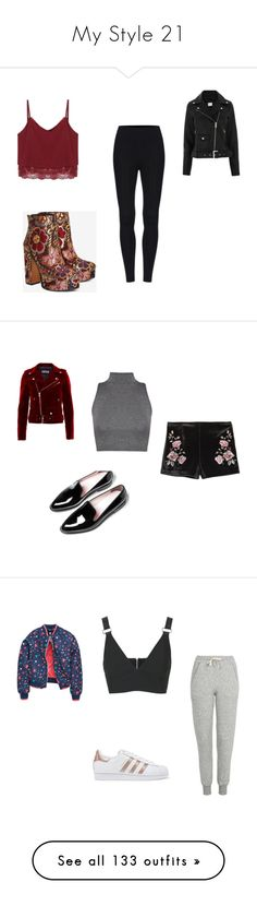 """""""My Style 21"""" by cecilia-acosta ❤ liked on Polyvore featuring Shellys, WearAll, Topshop, adidas Originals, Boohoo, Marques'Almeida, Vans, Tricker's, Zara and The 2nd Skin Co."""