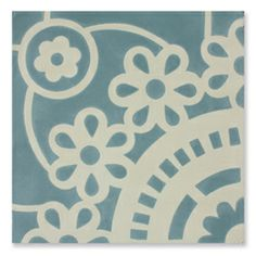 Pip Studio - tile - Lace_Sunflower_aqua