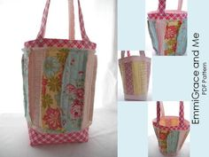 A Free Rag Bag PDF Sewing Pattern – New ToteStyle