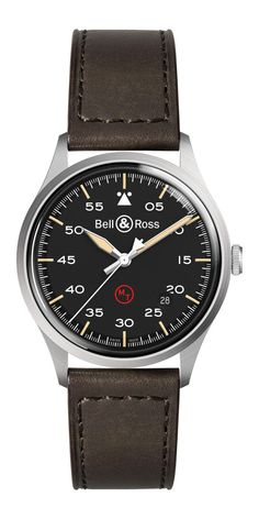 Bell & Ross BR-V1-92 Military - front