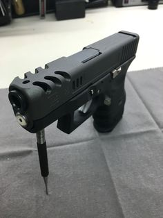 Custom Glock 26 slide Save those thumbs & bucks w/ free shipping on this magloader I purchased mine http://www.amazon.com/shops/raeind   No more leaving the last round out because it is too hard to get in. And you will load them faster and easier, to maximize your shooting enjoyment.