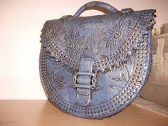 Ceramic Handbag - Raku glace