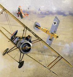 Sopwith Camel by Brian Knight                                                                                                                                                                                 More