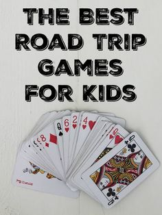 If your next family vacation involves a long car ride, you'll want to be prepared. Check out the best road trip games for kids to keep them entertained and having fun the whole trip! Road Trip With Kids, Family Road Trips, Travel With Kids, Family Travel, Family Vacations, Road Trip Activities, Road Trip Games, Fun Games, Games For Kids