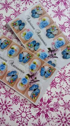 Manicures, Alice, Nail Art, Stickers, How To Make, Nail Stickers, Jewel Nails, Art Nails, Finger Nail Art