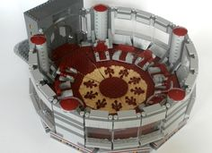 The Jedi High Council Chamber on Coruscant, the roomwhere the jedi masters meet during the rule of the Galactic Republic. With this model youwill be ableto reconstruct the ...