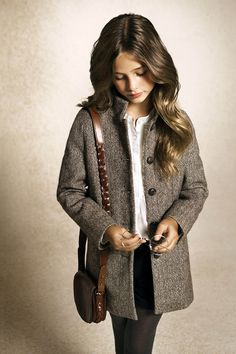 Winter Children's Collection 2012 | Massimo Dutti  #child #clothing