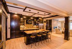 Basement Design Ideas. Basement with open floor plan design. #Basement