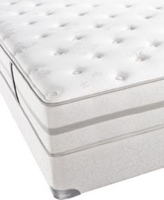 Beautyrest Classic Full Mattress Set, Lake Harbor Tight Top Plush - Full Mattresses at Macy's for Christi's room.