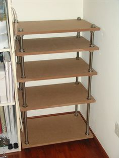 diy | Alex's Hobbies » Blog Archive » DIY HIFI Rack (4)