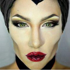 Aurora Makeup - Maleficent