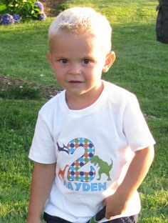 Kiwi Truly Teague Long Sleeve Infant T-Shirt I Love Dinosaurs 18 To 24 Months Stegosaurus
