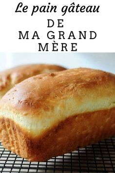 My grandmother& bread cake is not bread, it is not a treat . - My grandmother's bread cake is not bread, it's not cake… and yes, it's in between! Beignets, Scones, Peanut Butter No Bake, Butter Rice, Cookie Recipes, Snack Recipes, Party Food And Drinks, Bread Cake, Healthy Breakfast Recipes