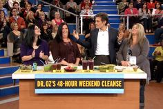 Dr. Oz's Weekend Cleanse. I am shopping and planning. Anybody else do this?