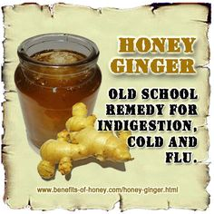 I drink the Ginger-Honey tea to avoid getting cold or flu, so far it's working.