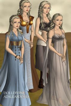 daenerys targaryen by ~ High Fantasy Dress Up A Dance With Dragons, Mother Of Dragons, Queen Dress, Dress Up, Daenerys Targaryen Dress, Medieval Drawings, Concept Clothing, Beyond Beauty, Doll Divine