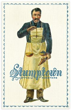 Stumptown Coffee / Postcards, Punchcards / The Official Manufacturing Company