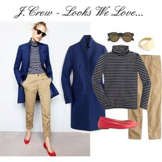 J.Crew - Looks We Love... by allthingssimplified on Polyvore featuring J.Crew and Illesteva