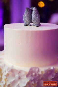 Boston Wedding Photography, Boston Event Photography, Cakes to Remember Boston, New England Aquarium Wedding Cake, Penguin Wedding Cake, Cute Wedding Cake Penguins, Boston Wedding Cakes