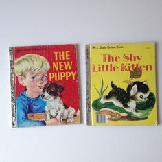 Hey, I found this really awesome Etsy listing at https://www.etsy.com/listing/257981725/little-golden-books-the-shy-little