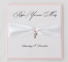 handmade christening cards - Google Search
