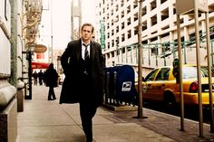 What I think I look like when walking downtown in a suit.