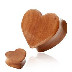 Organic Red Cherry Wood Heart Shape Double Flared Plug- Organic Red Cherry Wood Heart Shape Double Flared Plug Add some femininity to your stretched ears! These unique Organic Wood plugs are the perfect deviation from the standard Plugs and Flesh Tun Labret, Ear Jewelry, Body Jewelry, Jewlery, Spoon Jewelry, Gages For Ears, Organic Plugs, Wood Plugs, Gauges Plugs