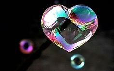 Bubble heart <3