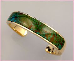 IN 054 Turquoise Cuff Bracelet