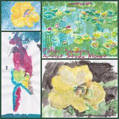Monet Fisher Academy International ~ Teaching Home: Artist Study: Monet {part two}