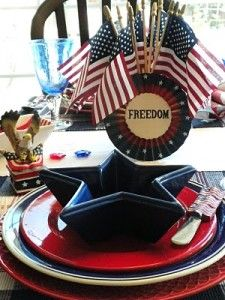 Festive 4th of July Tablescapes